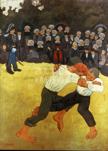 Paul serusier la lutte bretonne